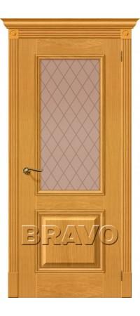 Межкомнатная дверь натуральный шпон серии Wood Classic -Вуд Классик-13 (Гранд) Natur Oak
