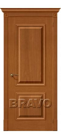Межкомнатная дверь натуральный шпон серии Wood Classic -Вуд Классик-12 (Гранд) Golden Oak