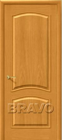 Межкомнатная дверь натуральный шпон серии Wood Classic -Вуд Классик-32 (Капри-3) Natur Oak