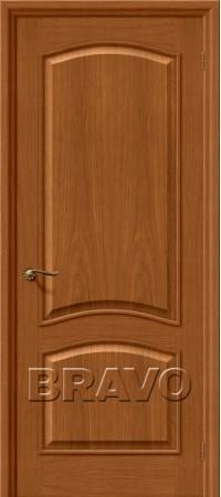 Межкомнатная дверь натуральный шпон серии Wood Classic -Вуд Классик-32 (Капри-3) Golden Oak