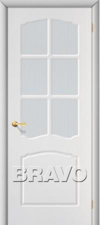 Межкомнатная дверь из ПВХ серии Start Альфа П-23 (Белый)
