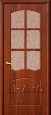 Межкомнатная дверь из ПВХ серии Start Альфа П-11 (ИталОрех)