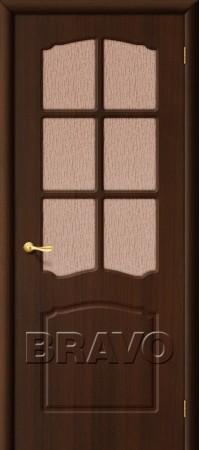 Межкомнатная дверь из ПВХ серии Start Альфа П-13 (Венге)