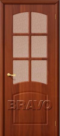 Межкомнатная дверь из ПВХ серии Start Кэролл П-11 (ИталОрех)
