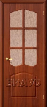 Межкомнатная дверь из ПВХ серии Start Лидия П-11 (ИталОрех)