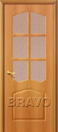 Межкомнатная дверь из ПВХ серии Start Лидия П-12 (МиланОрех)