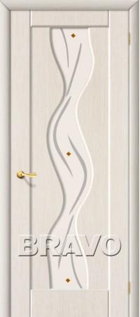 Межкомнатная дверь из ПВХ серии Start Вираж П-21 (БелДуб)