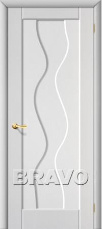 Межкомнатная дверь из ПВХ серии Start Вираж Плюс П-23 (Белый)