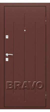 Входная металлическая дверь класс Комфорт - Стройгост 7-2 М-11 (ИталОрех)