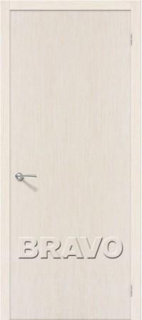 Межкомнатная дверь из шпона Файн Лайн серии Евро В-0  Ф-23 (БелДуб)