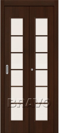 Складная дверь 2С Л-13 (Венге)