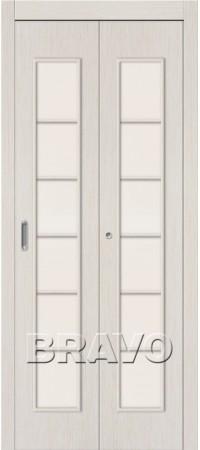 Складная дверь 2С Л-21 (БелДуб)