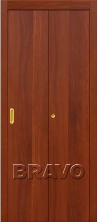 Складная дверь Гост Л-11 (ИталОрех)