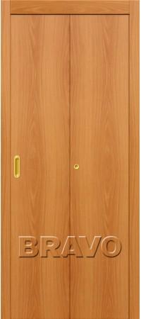 Складная дверь Гост Л-12 (МиланОрех)