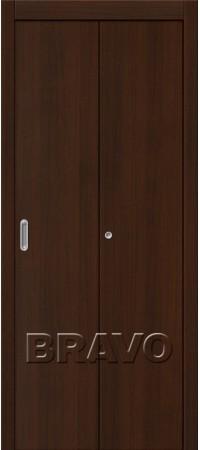 Складная дверь Гост Л-13 (Венге)