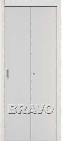 Складная дверь Гост Л-23 (Белый)