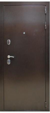 Входная металлическая дверь СНЕДО Троя РФ 3К Белёный дуб