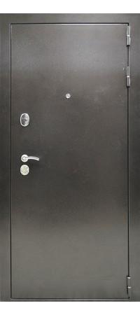 Входная металлическая дверь СНЕДО Соломон РФ 3К Ясень белый