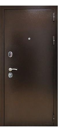 Входная металлическая дверь СНЕДО Титан 3К Винорит Грецкий орех