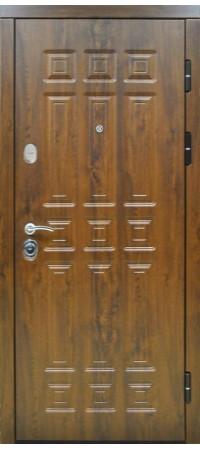Входная металлическая дверь СНЕДО Спарта 2К винорит тёмный дуб