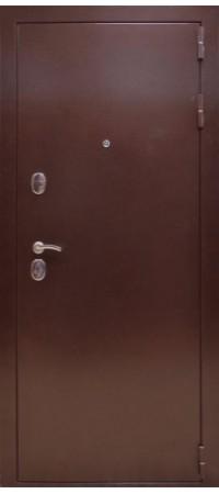 Входная металлическая дверь СНЕДО Соломон РФ 3К тёмный ОРЕХ