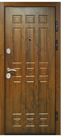 Входная металлическая дверь СНЕДО Спарта 3К ВИНОРИТ ТЁМНЫЙ ДУБ