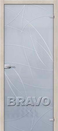 Межкомнатная дверь Ламинированная серии Гост Гост ПО-2 Л-23 (Белый)