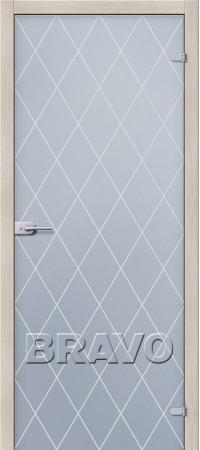 Межкомнатная дверь Ламинированная серии Гост Гост ПО-1 Л-11 (ИталОрех)