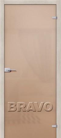 Межкомнатная дверь Ламинированная серии Гост Гост ПО-1 Л-12 (МиланОрех)