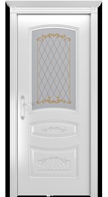 Соната ПО Белая эмаль/Серебряная патина В3 (рис.2)