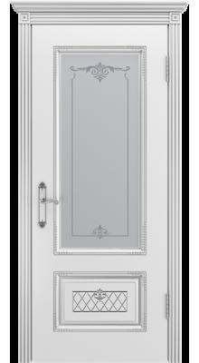 Аккорд ПО Белая эмаль/Серебряная патина В3 (рис.1)