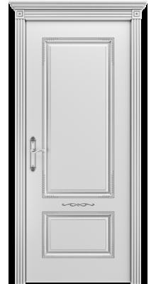Аккорд ПГ Белая эмаль/Серебряная патина В2