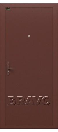 Входная дверь Инсайд Лайт Антик Медь эконом класса с внутренним открыванием.
