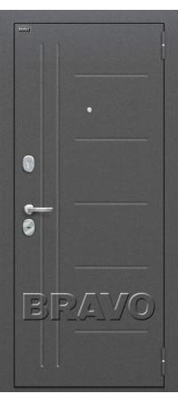 Входная дверь Проф Cappuccino Veralinga/White Pearl