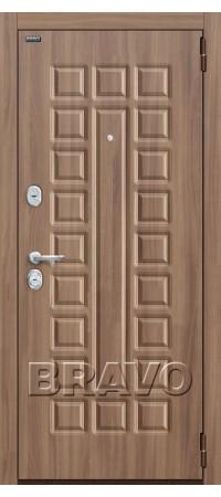 Входная дверь Твин П-35 (Шимо Темный)/П-34 (Шимо Светлый)