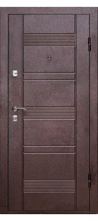Входная металлическая дверь УД 142М Венге
